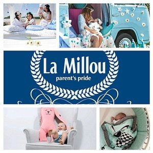 Akcesoria kocyki śpiworek La Millou poduszki