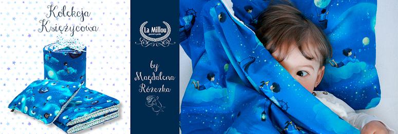 Bajkowa kolekcja księżycowa. Bajkowa pościel La Millou