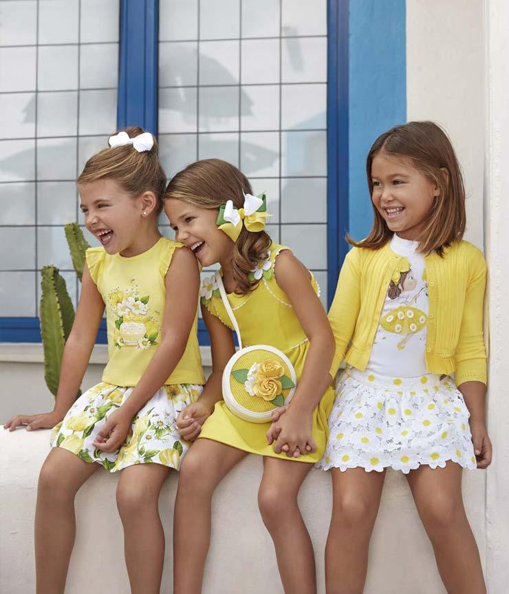 ubrania dla dzieci z kolekcji Mayoral