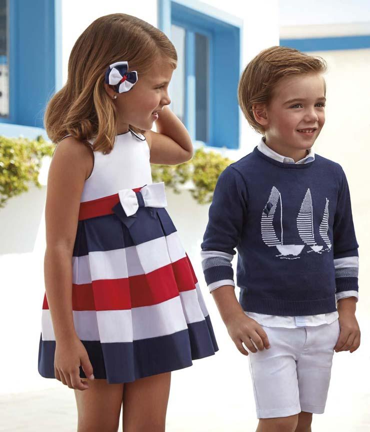 Kolekcja wiosna-lato 2018 ubranka dla dzieci Mayoral