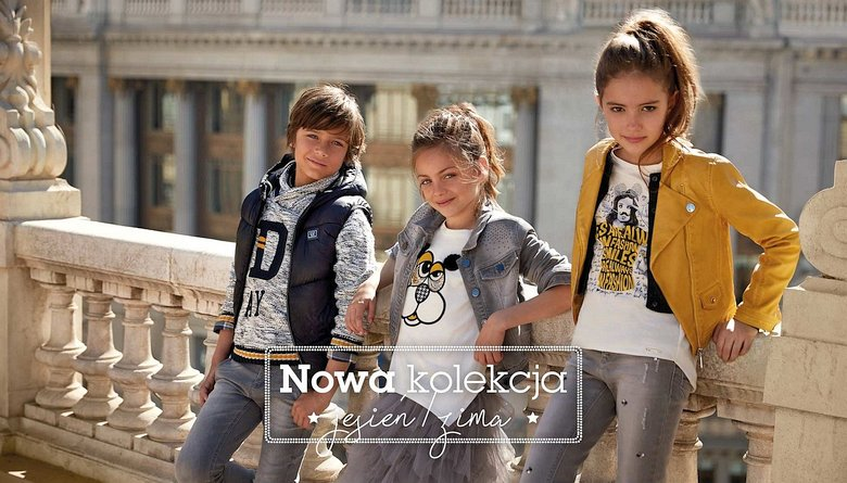 odzież dziecięca, ubrania młodzieżowe