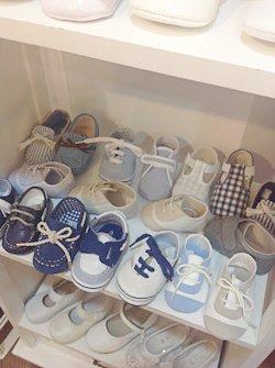 Buty do chrztu dla chłopca