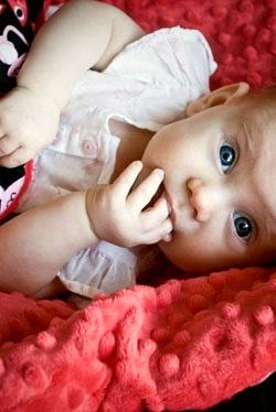 Pościel i poduszki z flauszu dla noworodków i maluszków