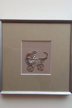 obrazek, wózek dziecięcy